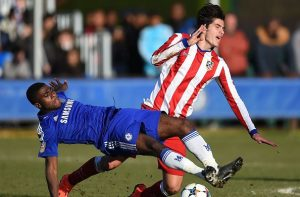 Chelsea FC v Atletico Madrid - UEFA Youth League: Quarter Final