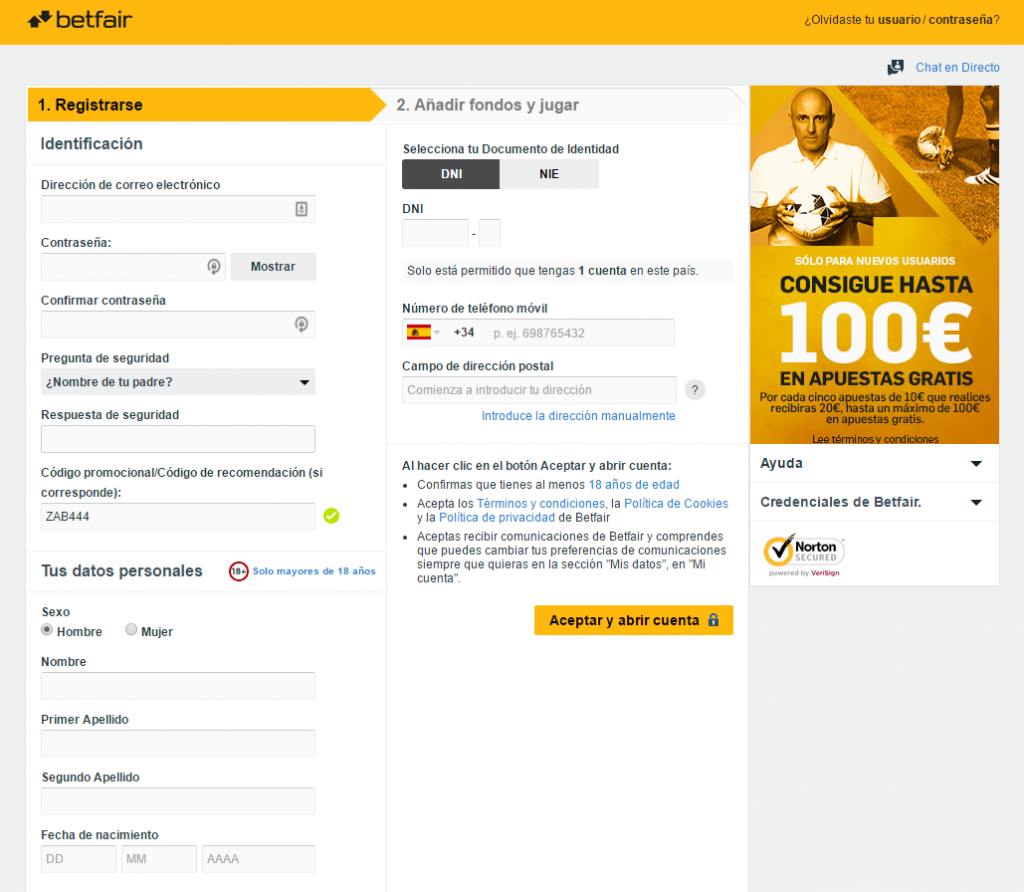 bono de betfair, supercuotas